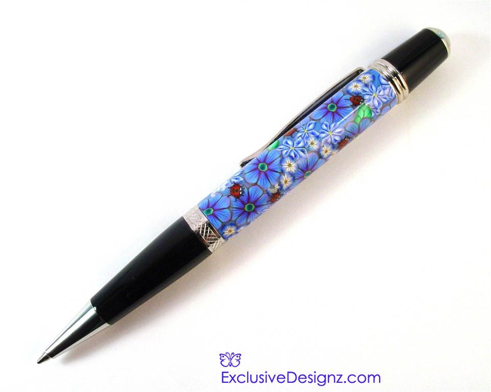 Lady Bug March Millefiori Pen